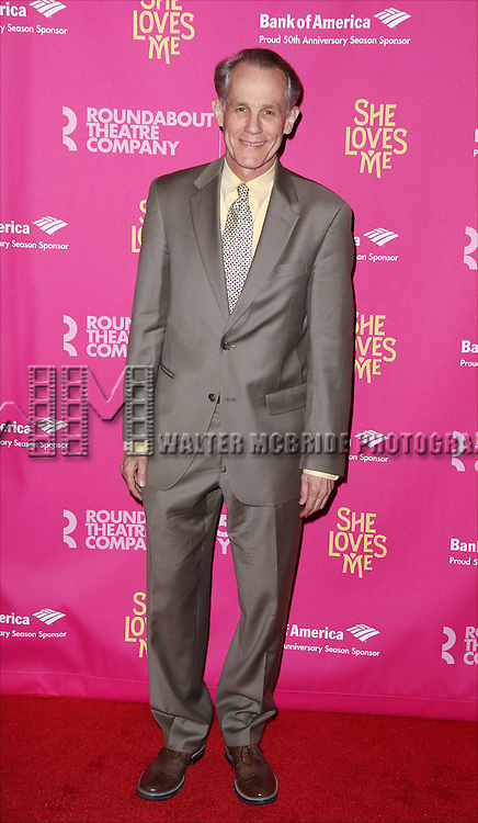 Jim Walton attends the Broadway Opening Night Performance press reception for 'She Loves Me' at Studio 54 on March 17, 2016 in New York City.