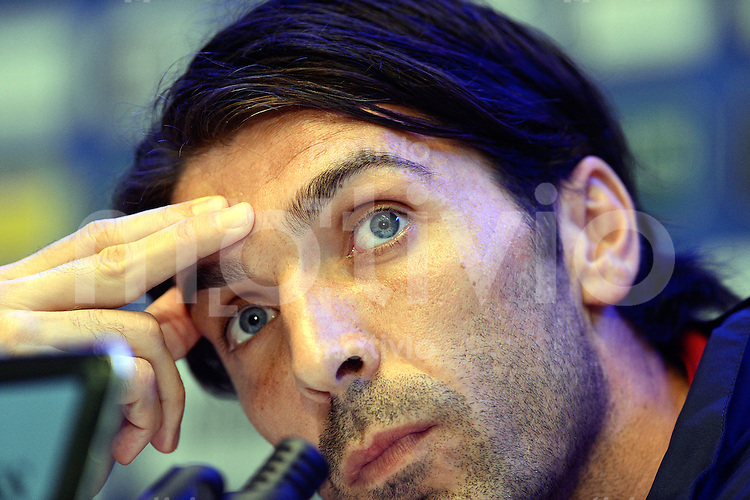 FUSSBALL INTERNATIONAL    30.05.2012  Pressekonferenz mit Gianluigi Buffon (Italien)
