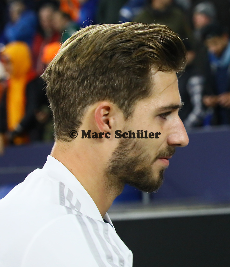 Torwart Kevin Trapp (Deutschland Germany) - 19.11.2018: Deutschland vs. Niederlande, 6. Spieltag UEFA Nations League Gruppe A, DISCLAIMER: DFB regulations prohibit any use of photographs as image sequences and/or quasi-video.