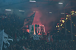 08.11.2019,  GER; 2. FBL, FC St. Pauli vs VfL Bochum ,DFL REGULATIONS PROHIBIT ANY USE OF PHOTOGRAPHS AS IMAGE SEQUENCES AND/OR QUASI-VIDEO, im Bild Feature Pyrotechnik auf der Zuschauertribuene der Pauli Fans Foto © nordphoto / Witke *** Local Caption ***