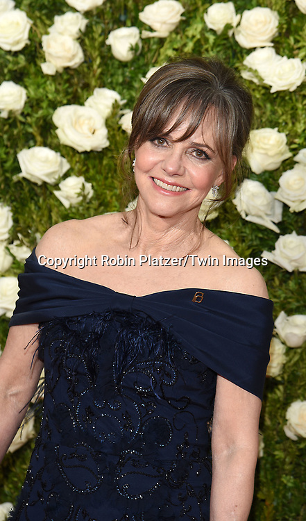 Sally Field attends the 71st Annual  Tony Awards on June 11, 2017 at Radio City Music Hall in New York, New York, USA.<br /> <br /> photo by Robin Platzer/Twin Images<br />  <br /> phone number 212-935-0770