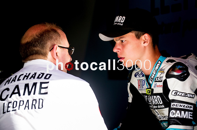 Box moto3 in the race for the championship of Spain of speed. 2015/06/21. Samuel de Roman / Photocall3000