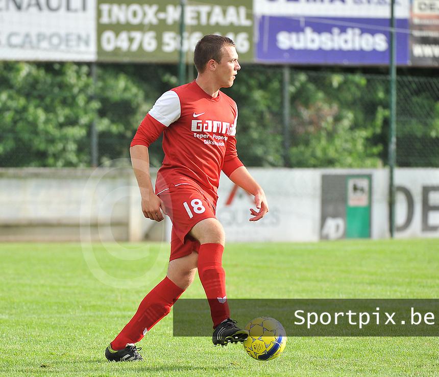 FC Langemark : Maudi Sannen<br /> foto VDB / Bart Vandenbroucke