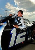 May 1, 2009; Richmond, VA, USA; NASCAR Sprint Cup Series driver David Stremme during qualifying for the Russ Friedman 400 at the Richmond International Raceway. Mandatory Credit: Mark J. Rebilas-