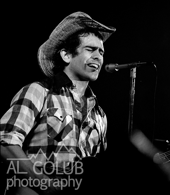 Jerry Murphy of Butch Whacks and the Glass Packs, Modesto,Ca,March 8th, 1974 At The California Ballroom Rockn' Chair Productions.<br /> Photo by Al Golub/Golub Photography