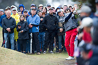 Matt Kucher (USA) during the second day of the World cup of Golf, The Metropolitan Golf Club, The Metropolitan Golf Club, Victoria, Australia. 23/11/2018<br /> Picture: Golffile | Anthony Powter<br /> <br /> <br /> All photo usage must carry mandatory copyright credit (© Golffile | Anthony Powter)