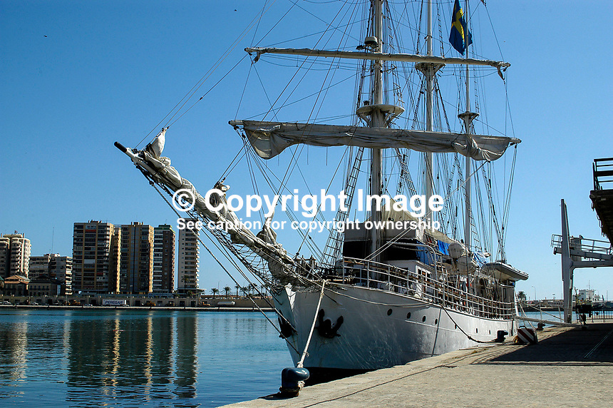 Amorina, 3 masted sailing ship, registered in Stockholm, Sweden, and available for charter. Ref: 200310082925<br /> <br /> Copyright Image from Victor Patterson, 54 Dorchester Park, Belfast, UK, BT9 6RJ<br /> <br /> t: +44 28 90661296<br /> m: +44 7802 353836<br /> <br /> e1: victorpatterson@me.com<br /> e2: victorpatterson@gmail.com<br /> <br /> For my Terms and Conditions of Use go to www.victorpatterson.com