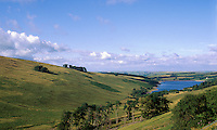 Großbritannien, Wales, Brecon Beacons, See bei Crai