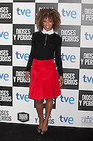 Mary Ruiz poses at `Dioses y perros´ film premiere photocall in Madrid, Spain. October 07, 2014. (ALTERPHOTOS/Victor Blanco) /nortephoto.com