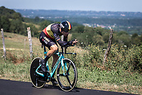 Belgian National TT Champion Wout Van Aert (BEL/Jumbo Visma)<br /> <br /> Stage 13: ITT - Pau to Pau (27.2km)<br /> 106th Tour de France 2019 (2.UWT)<br /> <br /> ©kramon