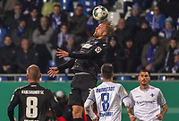 Philipp Hofmann (Karlsruher SC) - 29.10.2019: SV Darmstadt 98 vs. Karlsruher SC, Stadion am Boellenfalltor, 2. Runde DFB-Pokal<br /> DISCLAIMER: <br /> DFL regulations prohibit any use of photographs as image sequences and/or quasi-video.