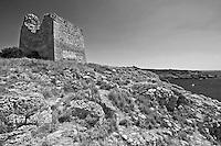 Torre Uluzzo nei pressi di Porto Selvaggio