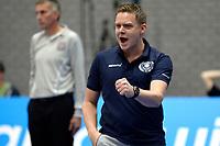 GRONINGEN - Volleybal, Abiant Lycurgus - Orion, Martiniplaza, Supercup , seizoen 2017-2018, 01-10-2017,  Lycurgus coach Arjan Taaij