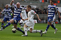 Pictured: Mark Gower of Swansea City in action <br /> Re: Coca Cola Championship, Swansea City FC v Doncaster Rovers at the Liberty Stadium. Swansea, south Wales, Saturday 21 February 2009<br /> Picture by D Legakis Photography / Athena Picture Agency, Swansea 07815441513