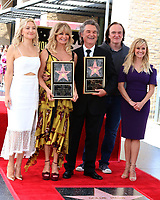 LOS ANGELES - MAY 4:  Kate Hudson,Goldie Hawn, Kurt Russell, Quentin Tarantino, Reese Witherspoon at the Kurt Russell and Goldie Hawn Star Ceremony on the Hollywood Walk of Fame on May 4, 2017 in Los Angeles, CA