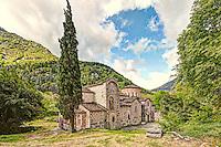 The Church of Porta Panagia at Pyli, Greece