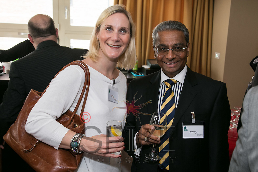 Laura Grant of Equation and Nat Parmar of In Partnership