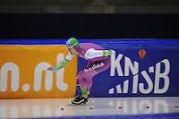 SCHAATSEN: HEERENVEEN: 29-11-2014, IJsstadion Thialf, KNSB trainingswedstrijd, Aron Romeijn, ©foto Martin de Jong