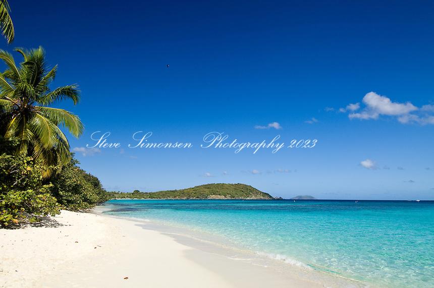 Hawksnest Beach, Virgin Islands National Park.St. John, US Virgin Islands
