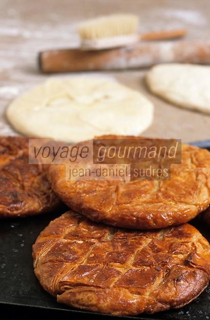 Europe/France/Bretagne/29/Finistère/Douarnenez: Préparation des Kouing Amann par Thierry Lucas (pâtissier)