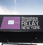 Branding - Bloomberg Square Mile Relay New York 2016