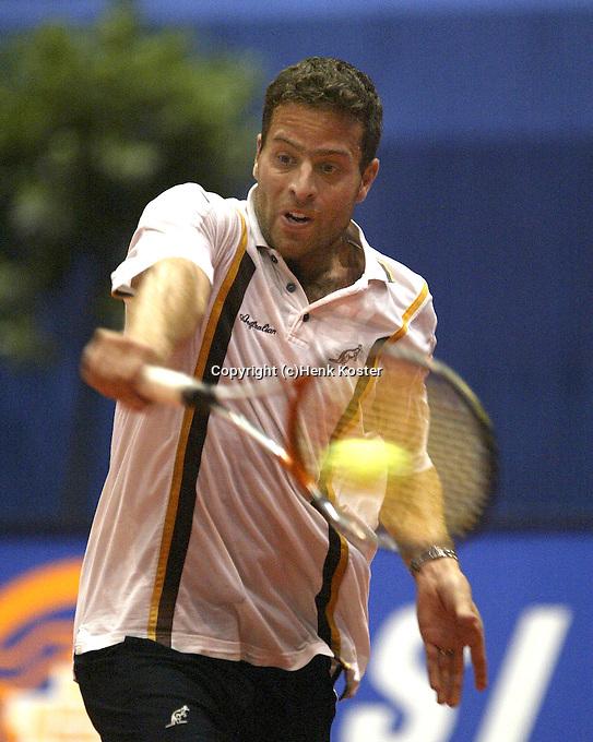 20031209, Rotterdam, LSI Masters, Bart Beks verslaat Standaart