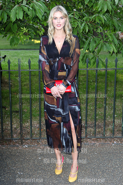 Donna Air arriving for the Serpentine Summer Party, at the Serpentine Gallery, Hyde Park, London. 01/07/2014 Picture by: Alexandra Glen / Featureflash