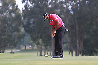 S.S.P. Chawrasia (IND) on the 4th green during Round 4 of the UBS Hong Kong Open, at Hong Kong golf club, Fanling, Hong Kong. 26/11/2017<br /> Picture: Golffile | Thos Caffrey<br /> <br /> <br /> All photo usage must carry mandatory copyright credit     (&copy; Golffile | Thos Caffrey)
