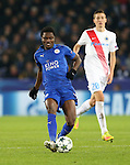 Leicester's Daniel Amartey in action during the Champions League group B match at the King Power Stadium, Leicester. Picture date November 22nd, 2016 Pic David Klein/Sportimage