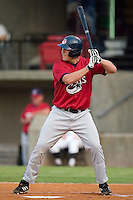 Huntsville Stars' Brad Nelson stands in to take his swings versus the Carolina Mudcats at Five County Stadium in Zebulon, NC, Thursday, July 20, 2006.