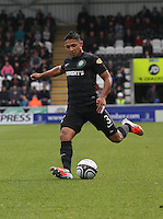 Emilio Izaguirre in the St Mirren v Celtic Clydesdale Bank Scottish Premier League match played at St Mirren Park, Paisley on 20.10.12.