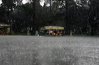 Rainstorm in Rome