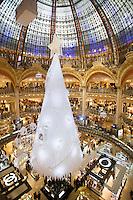 Parigi nella foto centro commerciale Lafayette geografico Parigi 05/11/2016 foto Matteo Biatta<br /> <br /> Paris in the picture Lafayette shopping center geographic Paris 05/11/2016 photo by Matteo Biatta