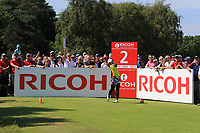 Pornanong Phatlum (THA) on the 2nd tee during Round 4 of the Ricoh Women's British Open at Royal Lytham &amp; St. Annes on Sunday 5th August 2018.<br /> Picture:  Thos Caffrey / Golffile<br /> <br /> All photo usage must carry mandatory copyright credit (&copy; Golffile | Thos Caffrey)