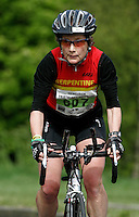 13 MAY 2006 - EDINBURGH, UK - Hilary Walker - British Age Group Duathlon Championships (PHOTO (C) 2006 NIGEL FARROW)