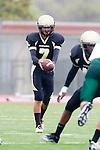 Torrance, CA 10/05/11 - Tony Bumatay (Peninsula #7) in action during the Peninsula vs South Torrance Junior Varsity football game.