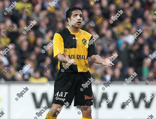 2010-03-20 / Voetbal / seizoen 2009-2010 / K. Lierse SK - KVSK United / Mohamed Abdel Wahed..Foto: Mpics