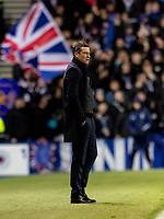5th February 2020; Ibrox Stadium, Glasgow, Scotland; Scottish Premiership Football, Rangers versus Hibernian; Jack Ross Hibernian Manager