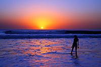 Beach Sunsets In Orange County