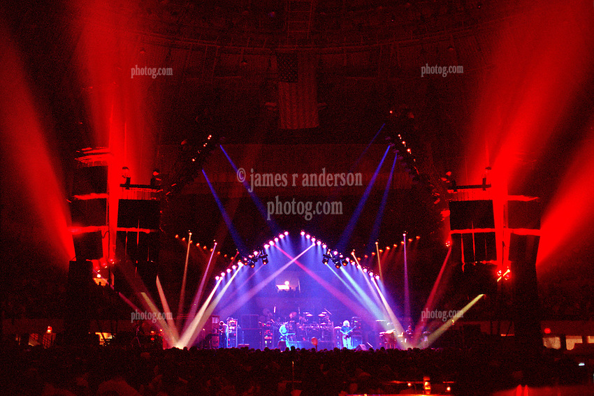 "The Grateful Dead Live at The Hampton Coliseum on 9 October 1989. One of the ""Formerly The Warlocks"" concerts. Image capture during ""Space"". Limited Edition Photographic Prints available for purchase in Cart."