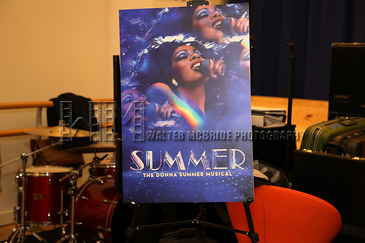 """The Meet & Greet for """"Summer: The Donna Summer Musical"""" on March 8, 2018 at the New 42nd Street Studios,  in New York City."""