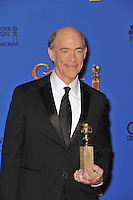J.K. Simmons at the 72nd Annual Golden Globe Awards at the Beverly Hilton Hotel, Beverly Hills.<br /> January 11, 2015  Beverly Hills, CA<br /> Picture: Paul Smith / Featureflash