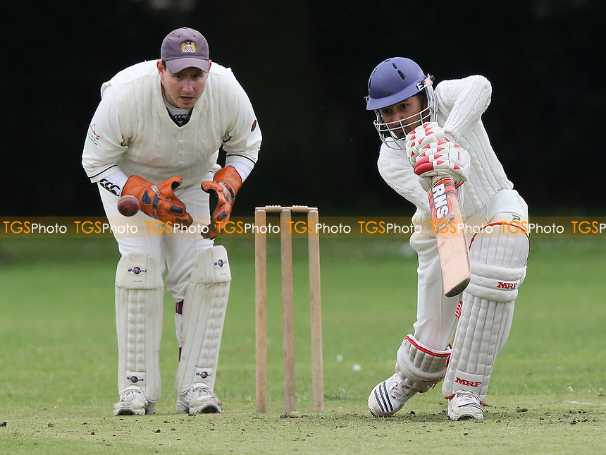 S Ubhi in batting action for Leyton - Hornchurch Athletic CC vs Leyton County CC - Lords International Cricket League at Hylands Park - 12/07/08 - MANDATORY CREDIT: Gavin Ellis/TGSPHOTO - Self billing applies where appropriate - Tel: 0845 094 6026.