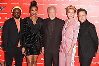"Will.i.am, Jennifer Hudson, Sir Tom Jones, Emma Willis and Olly Murs<br /> at the launch photocall for the 2019 series of ""The Voice"" London<br /> <br /> ©Ash Knotek  D3468  03/01/2019"