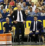 05.06.2019, Mercedes Benz Arena, Berlin, GER, ALBA BERLIN vs.  Oldenburg, <br /> im Bild Cheftrainer Aito Garcia Reneses (ALBA Berlin)<br /> <br />      <br /> Foto © nordphoto / Engler