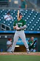 Daytona Tortugas center fielder Stuart Fairchild (4) during a Florida State League game against the Palm Beach Cardinals on April 11, 2019 at Roger Dean Stadium in Jupiter, Florida.  Palm Beach defeated Daytona 6-0.  (Mike Janes/Four Seam Images)