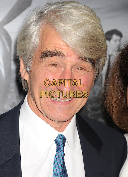 Sam Waterson<br /> arriving at the Los Angeles Season 2 Premiere Of HBO's Series 'The Newsroom' at Paramount Pictures Studios in Hollywood, California, USA, July 10th 2013.<br /> portrait headshot blue tie white shirt <br /> CAP/ROT/TM<br /> &copy;Tony Michaels/Roth Stock/Capital Pictures