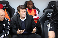 Pictured: Michael Laudrup.<br /> Saturday 04 May 2013<br /> Re: Barclay's Premier League, Swansea City FC v Manchester City at the Liberty Stadium, south Wales.