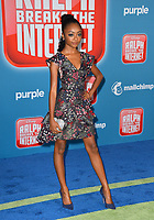 LOS ANGELES, CA. November 05, 2018: Skai Jackson at the world premiere of &quot;Ralph Breaks The Internet&quot; at the El Capitan Theatre.<br /> Picture: Paul Smith/Featureflash