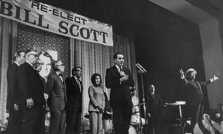 Sen. William L. Scott, R-Va. 1968 (Photo by CQ Roll Call)